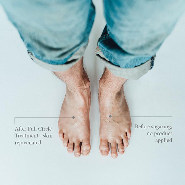 Sugaring - feet
